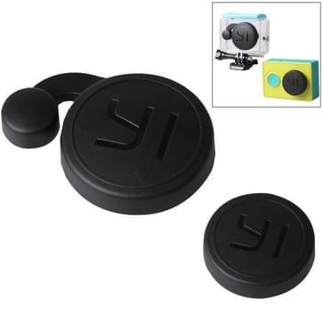 Beschermings Camera Lens Cap + Behuizing hoes / caseLenskap ingesteld voor Xiaoyi