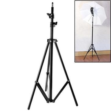 professionele fotografie aluminium lichting staan voor studio flash licht(zwart)
