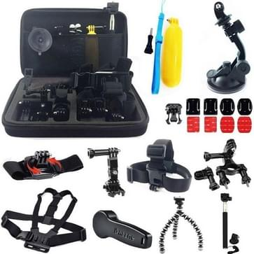 24-In-1 GoPro HERO 6 / 5 / 4 / 3+ / 3 / 2 / 1 accessories kit met hoes / case