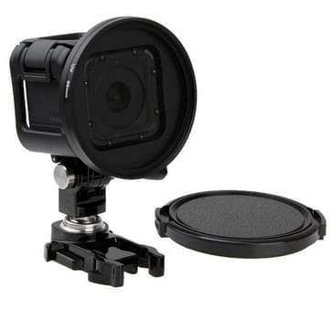 58mm Ronde cirkelvormige kleuren UV Lens Filter met lensdop cap voor GoPro HERO4 Session