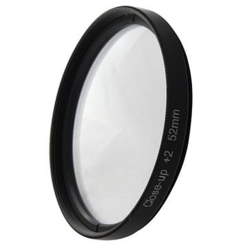 6 In 1 52mm Albumclose-up Lens Filter Macro Lens Filter + Filter Adapter Ring voor GoPro Hero 4 / 3+