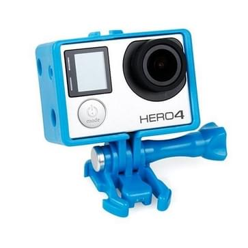 TMC BacPac Frame / behuizing hoes / case voor HERO 4/5 SESSION / (2018) 7 / 6 / 5 / 4 / 3+ / 3 / 2 / 1 (blauw)