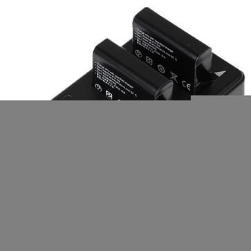 Oplader met LCD-scherm geschikt voor twee batterijen voor de GoPro HERO 4 (AHDBT-401)