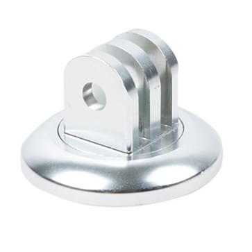 TMC Adapter / houder voor GoPro HERO (2018) 7 / 6 / 5 / 4 / 3+ / 3 / 2 / 1 (zilver)