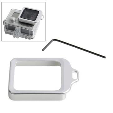 Lens Kit (Aluminum draagriem ringbevestiging & schroevendraaier) voor GoPro HERO 4 / 3+(zilver)