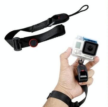 TMC Quick Release Camera polsriem voor GoPro HERO (2018) 7 / 6 / 5 / 4 / 3+ / 3 / 2 / 1 Camera, Max. Lengte: 22cm (zwart)
