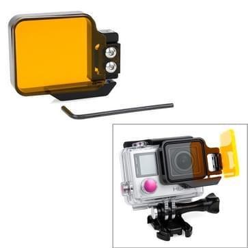 TMC Light Motion Nacht onderwater filter voor GoPro Hero 4 / 3+ (Oranje)
