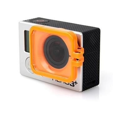 TMC Lens Anti-exposure beschermkap voor GoPro Hero 4 / 3+ (Oranje)