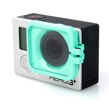 TMC Lens Anti-exposure beschermkap voor GoPro Hero 4 / 3+ (groen)