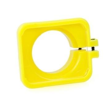 TMC Lens Anti-exposure beschermkap voor GoPro Hero 4 / 3+ (geel)
