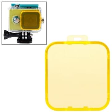 Snap-on Dive Filterhuis voor Xiaomi Xiaoyi (geel)