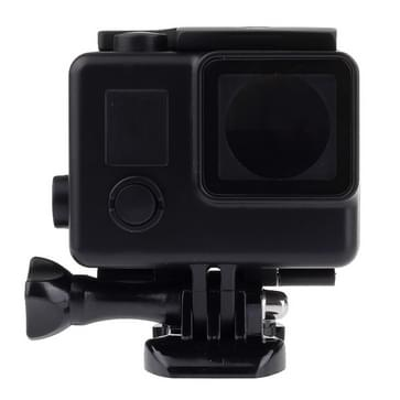 Black Edition Behuizing Waterdicht hoes / case beschermings voor Gesp Basic Houder voor GoPro Hero 4 / 3+, Waterdicht Diepte: 45m (zwart)