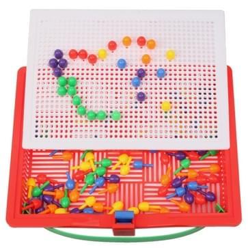 120pcs kinderen kunststof puzzel kollekties speelgoed