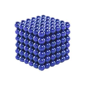 Buckyballs magnetische ballen / Magic puzzel magneet ballen (216 stuks magneet ballen inbegrepen), blauw