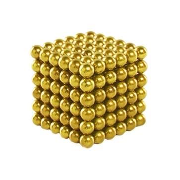 216 PCS Buckyballs Magnetic Balls / Magic Puzzle Magnet Balls(Gold)