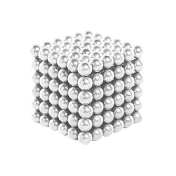 Buckyballs magnetische ballen / Magic puzzel magneet ballen (216 stuks magneet ballen inbegrepen), (wit)