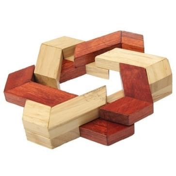 Volwassen onderwijs houten intelligentie speelgoed Lock