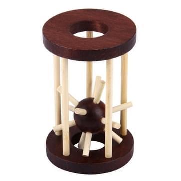 Gevangenis Break Brain Teaser IQ puzzel houten volwassen educatief speelgoed