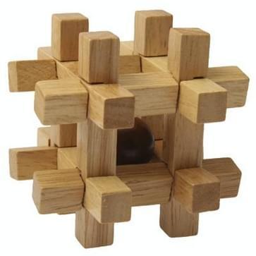 houten volwassen educatieve speelgoed recreatieve speelgoed Kongming Lock