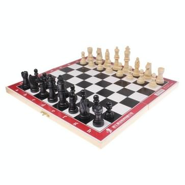 Portable International Chess Game Set in Wooden Box