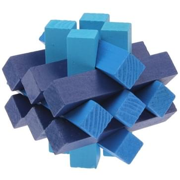 Intelligentie houten Pull-Apart IQ puzzel Magic Cube speelgoed