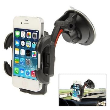 Auto universeel multi-richting houder voor iPhone 4 & 4S / Mobile / PSP / PDA / GPS / MP4, breedte: 5-10 cm (XWJ-13HD)(zwart)