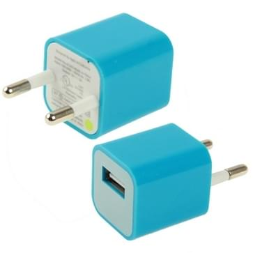 USB thuis lader / oplader voor iphone 5 , iphone 4 & 4s (blauw)