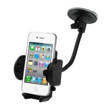 Auto universeel houder voor iPhone 4 & 4S / 3 g / 3G / mobiele telefoon / GPS / PDA / MP4, steun 360 graden draaiend, breedte: 4.5-11cm