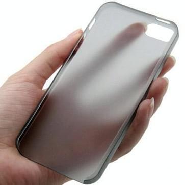 iPhone 5 & 5S ultra-dun 0.3mm beschermend Polycarbonaat back cover Hoesje (zwart)