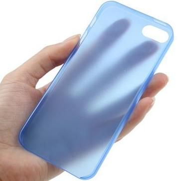 iPhone 5 & 5S ultra-dun 0.3mm beschermend Polycarbonaat back cover Hoesje (blauw)