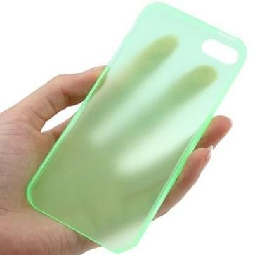 iPhone 5 & 5S ultra-dun 0.3mm beschermend Polycarbonaat back cover Hoesje (groen)