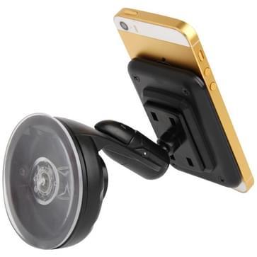 Stootvaste / 360 roterende hoek universeel auto Windshield Mount zuigen houder voor iPhone 5 & 5 C & 5S, Samsung i9500 / i9300 / N7100, LG Nexus 5, Sony Xperia L39h enz.