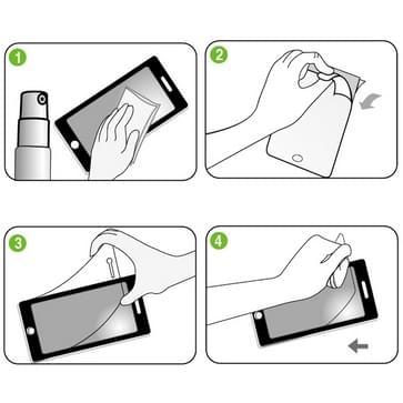 iPhone 5 & 5S LCD Schermprotector (Japans materiaal)