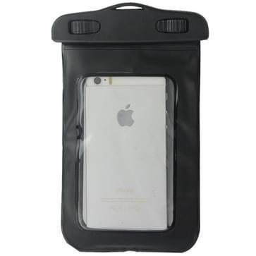 Universeel beschermend IPX8 waterdicht Tasje met draagriem voor iPhone 5 & 5C & 5S / 4 & 4S / 3G of vergelijkbare Android mobiele telefoon (zwart)