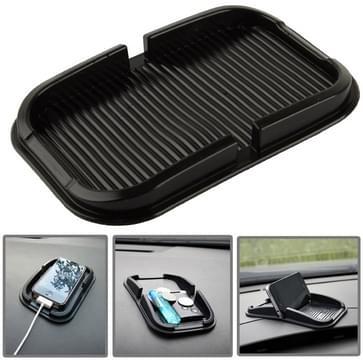 Auto Dashboard anti-slip Magic Sticky siliconen Gel Pad / houder voor iPhone 5 & 5S / iPhone 4 & 4S(zwart)
