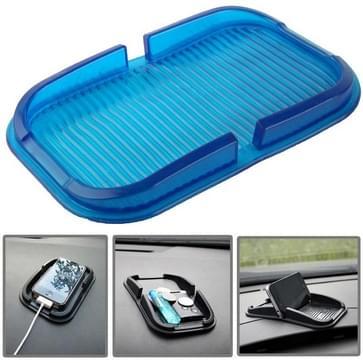 Auto Dashboard anti-slip Magic Sticky siliconen Gel Pad / houder voor iPhone 5 & 5S / iPhone 4 & 4S(blauw)