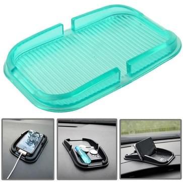 Auto Dashboard anti-slip Magic Sticky siliconen Gel Pad / houder voor iPhone 5 & 5S / iPhone 4 & 4S (Green(groen)