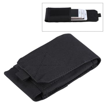 Leger Combat Utility Velcro gordel Pouch Bum reistas mobiele telefoon geld (zwart) (iphone 5)