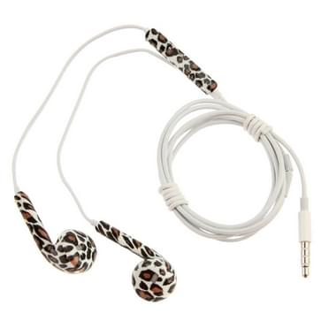 Leopard Print Pattern EarPods with Remote and Mic  Random Color & Pattern Delivery  for iPhone 6 & 6s & 6 Plus & 6s Plus / iPhone 5 & 5S & SE & 5C  iPhone 4 & 4S  iPad / iPod touch  iPod Nano / Classic