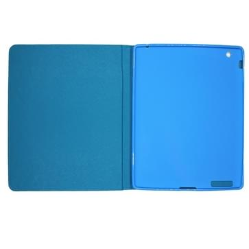 iPad Air 2 / iPad 6 horizontaal LIVE THE LIFE YOU LOVE patroon PU leren Smart Hoesje met houder en slaap / ontwaak functie