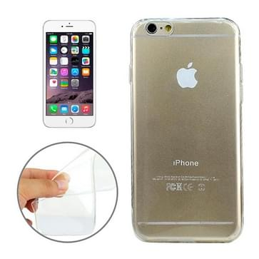 iPhone 6 & 6S ultra-dun 0.45mm TPU back cover Hoesje (transparant)