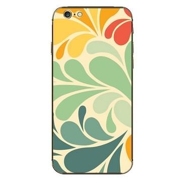 iPhone 6 & 6S Kleurrijk patroon structuur beschermende stickers