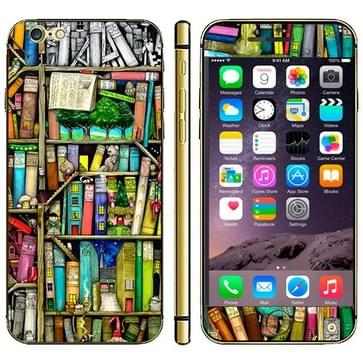 iPhone 6 & 6S Boekenkast patroon beschermende stickers