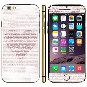 iPhone 6 & 6S Hartje patroon patroon beschermende stickers