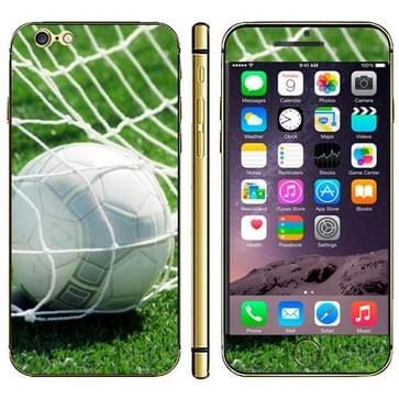 iPhone 6 & 6S Voetbal patroon beschermende stickers