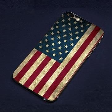 iPhone 6 & 6S USA vlag patroon beschermende stickers