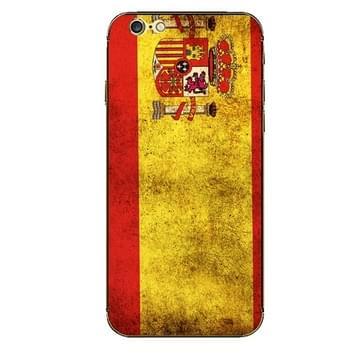 iPhone 6 & 6S Spanje vlag patroon beschermende stickers