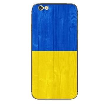 iPhone 6 & 6S Ukraine vlag patroon beschermende stickers