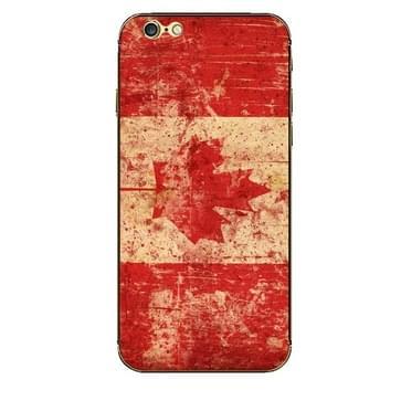iPhone 6 & 6S Canada vlag patroon beschermende stickers