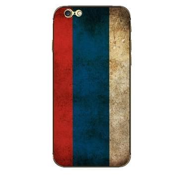 iPhone 6 & 6S Rusland vlag patroon beschermende stickers